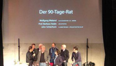 Pressekonferenz des 90-Tage-Rats